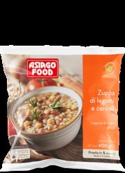 Zuppa di legumi e cereali - Asiago Food