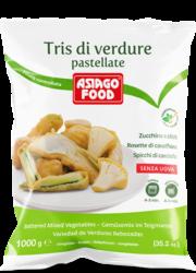 Battered vegetable Trio - Asiago Food