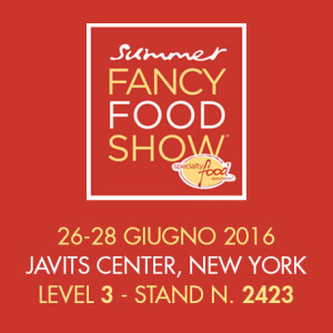 Asiago Food al Summer Fancy Food Show 2016, level 3 stand 2423, dal 26 al 28 giugno 2016