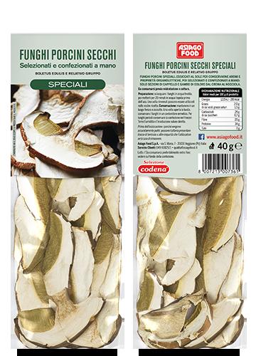 Funghi porcini secchi Speciali 40g - Asiago Food