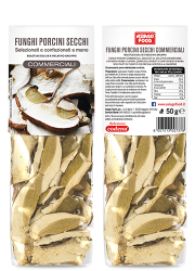 Dried porcini mushrooms Commercial Quality - Asiago Food