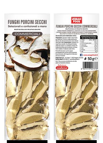Funghi porcini secchi Commerciali 50g - Asiago Food