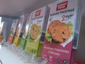 Burger vegetali vegani surgelati Asiago Food al SANA 2016 fiera del biologico.