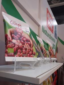 Frutta surgelata biologica Asiago Food al SANA 2016 fiera del biologico.
