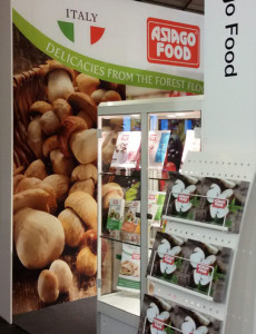 Horeca Expo Belgio 2016 food exhibition Asiago Food forzen food.
