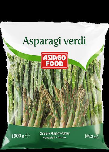 Asparagi verdi 1000g - Asiago Food