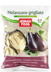Melanzane grigliate a fette - Asiago Food