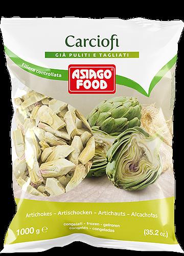 Carciofi a spicchi 1000g - Asiago Food