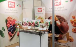 Stand Asiago Food alla fiera Biofach 2017.