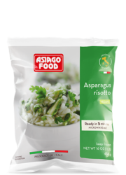 Asparagus risotto (US) - Asiago Food