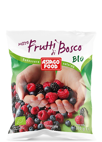 Organic mixed berries 300g - Asiago Food