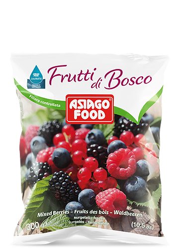 Mixed berries 300g - Asiago Food