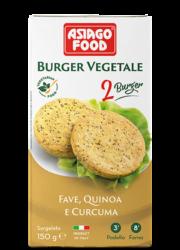 Burger vegetale fave, quinoa e curcuma - Cuor di bontà