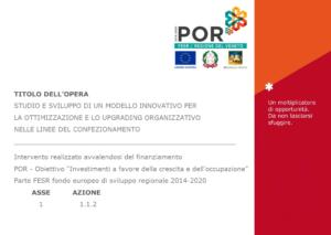 Poster POR FESR modello innovativo upgrading organizzativo linee di confezionamento