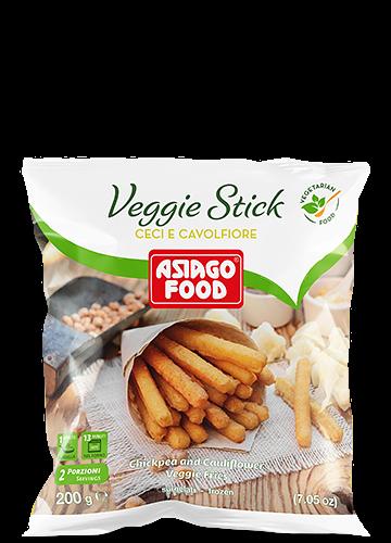 Veggie Stick ceci e cavolfiore 200g - Asiago Food